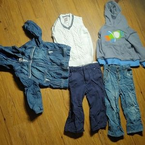 Cute gymboree boys bundle lot jacket sweatshirt